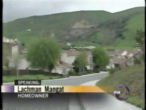 Fremont California KTVU landslide