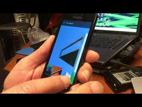 This is HOW to Install [RESIZE PARTITION]  CM14.1 ( ANDROID N 7.1 ) on the SAMSUNG GT i9100