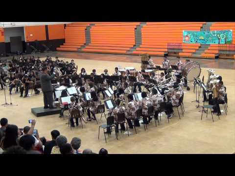 Ilima Intermediate School Band Aloha Concert 2013