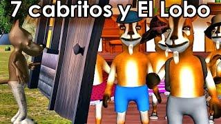La Cancion del Cuento de Los 7 Cabritos y el Lobo Feroz - Cuentos Clásicos - Videos para Niños