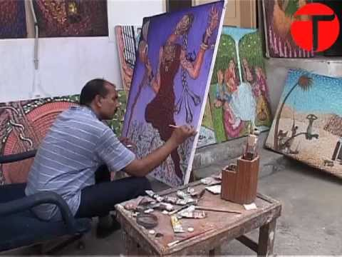 Policeman paints what he can't solve by law