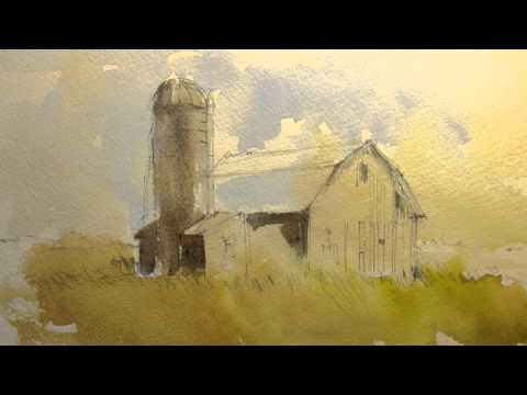 How to paint a barn