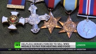 Honor On Sale: UK WW2 hero sells medals to survive
