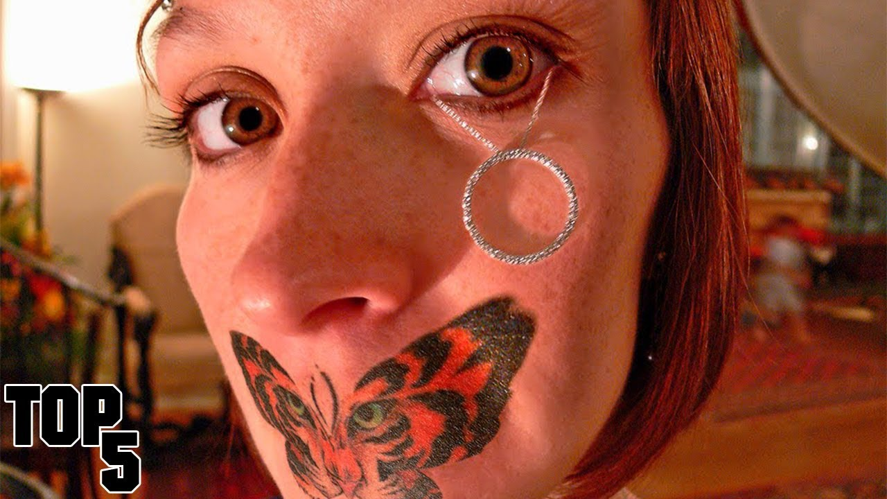 Top 5 most dangerous piercings part 2 youtube for Can you get a tattoo before surgery