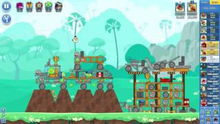 Angry Birds Friends on Facebook Pig Your Ride Tournament Level 4 No Power Ups 3 Stars May 25 2017
