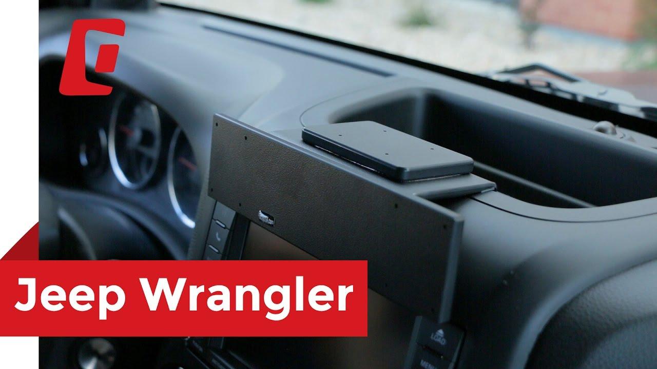Jeep Wrangler Jku >> ProClip USA Center Mount Extra Strength 2011 - 2017 Jeep Wrangler 213499 - YouTube
