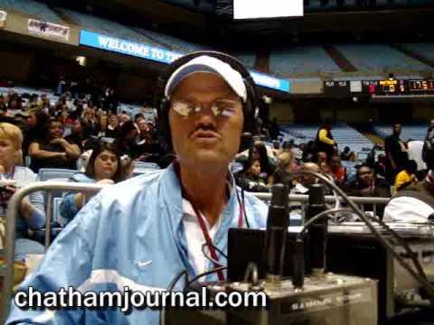 Siler City's WNCA 1570AM Radio Station at the North Carolina State High School Championship