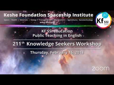 211th Knowledge Seekers Workshop - Feb 15, 2018
