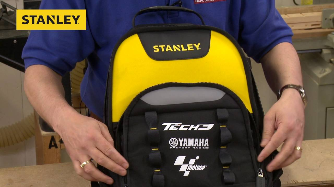 4374a1ae3a Stanley Tech 3 Back Pack - YouTube