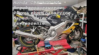 Honda CBR 600 F4, pełen serwis po kupnie motocykla. Część pierwsza.