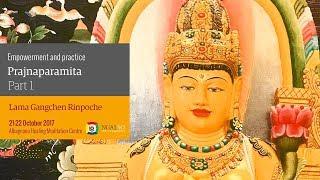 Empowerment and practice of Prajnaparamita (English – Italian) – 21-22 October 2017