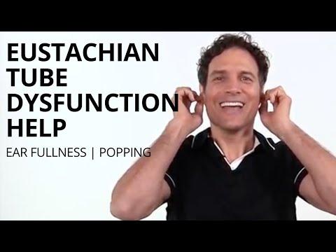 Eustachian Tube Dysfunction ETD Exercises And Massage Techniques For Ear Fullness