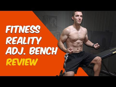 Fitness Reality 1000 Super Max Weight Bench Review - Home Adjustable Bench