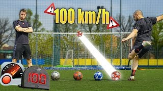 POWER SHOT CROSSBAR CHALLENGE - Sfida IMPOSSIBILE!