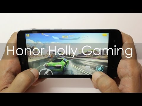 Huawei Honor Holly Gaming Review with HD Games