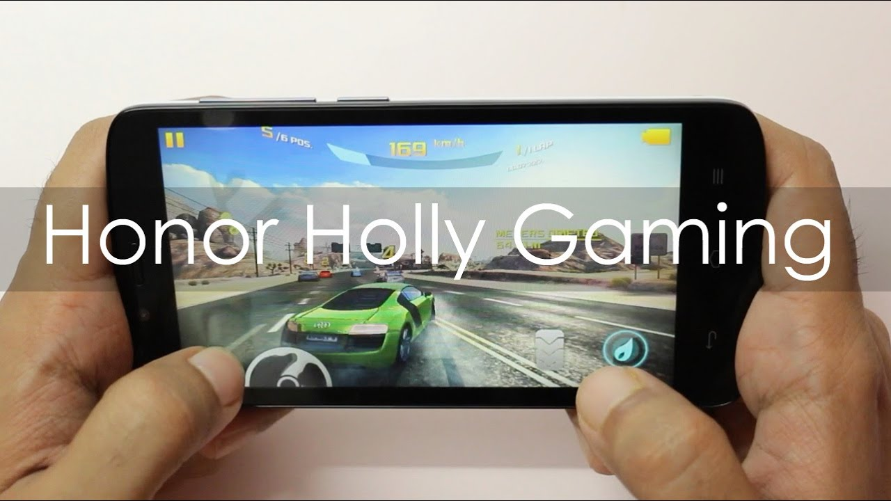 Huawei Honor Holly Gaming Review with HD Games - YouTube