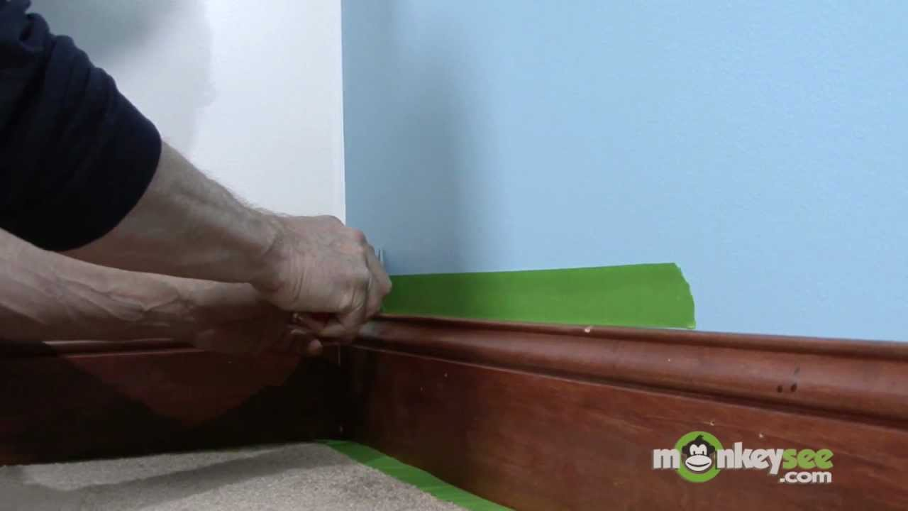 Best Caulk For Trim Varnished Trim Painting Tricks Youtube
