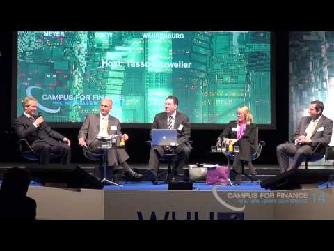"Panel Discussion - ""A World of Cheap Money?"" at WHU New Year's Conference 2014"