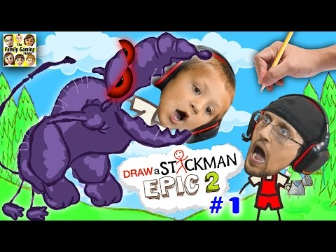 Thumbnail: DRAW A STICKMAN EPIC 2 🚸 Giant Rat Chase (FGTEEV Imagination Chapter 1 Gameplay)