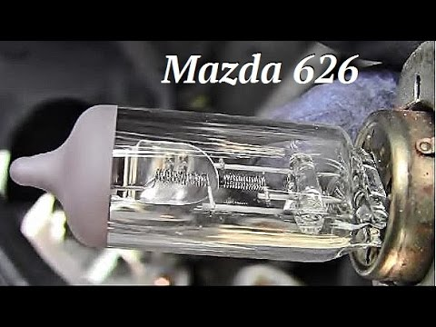 How To Replace 9003 Right Front Headlight On Mazda 626