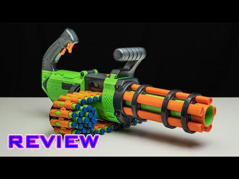 [REVIEW] Adventure Force V-Twin   Chain-Fed Mini Gun!?