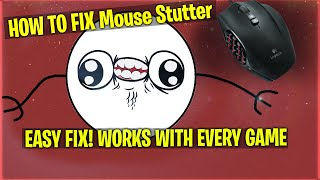 How to fix Mouse stuttering/FPS glitches (Fortnite Battle Royale,H1Z1,PUBG)