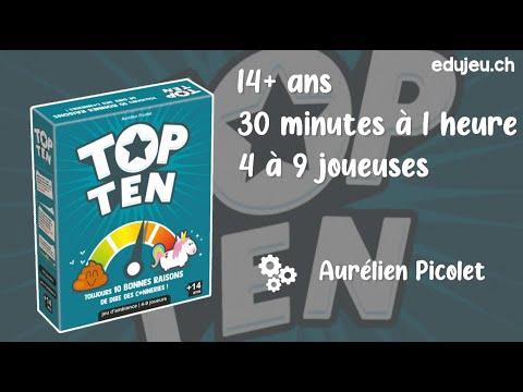 COMMENT JOUER A TOP TEN !?! EDUJEU
