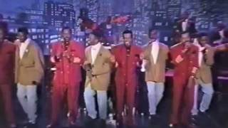 """1992 The Temptations / Can't Get Next To You (TV Live) on """"The Arsenio Hall Show"""""""