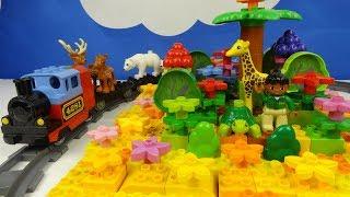 Строим из Lego Duplo, Build and Play toys Lego, строим и играем Лего Дупло - small oasis