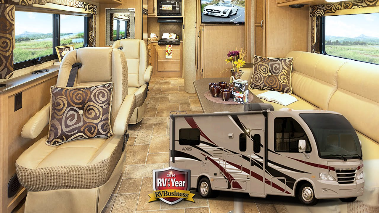 new thor axis vegas 24 2 outlaw 38re motorhomes quick review rh youtube com 2019 Thor Motorhomes Interior Thor Outlaw Motorhome