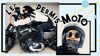LE PERMIS MOTO (POUR LES NULS)(OU PAS) | Coline