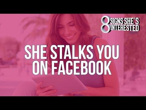 She Stalks You On Facebook