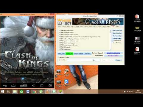 Clash Of Kings Farming Bot|KINGBOT|