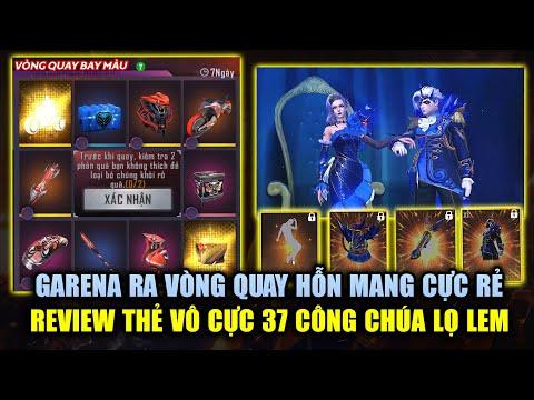 Free Fire   Garena Mở Vòng Quay Hỗn Mang Giá Cực Rẻ - Review Thẻ Vô Cực 37 Mê Hồn   Rikaki Gaming