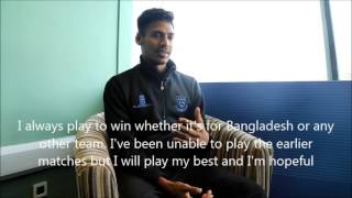 EXCLUSIVE: Mustafizur Rahman Interview ahead of Sussex Sharks debut