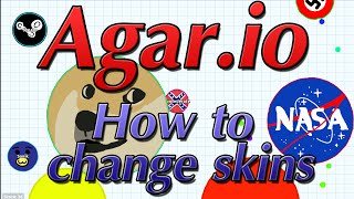 How to change skins in Agar.io - Agario