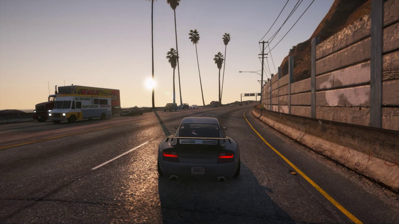 [GTAV] WTF Trevor? Terrible spawn - Grand Theft Auto V