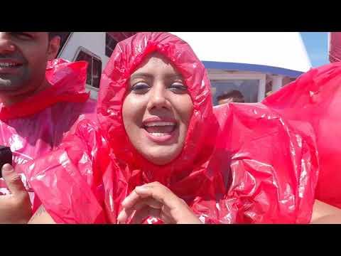 Niagara Falls Cruise-Mist Boat Ride in Canada Toronto Ontario with Mamta Sachdeva