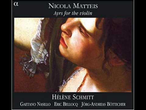 Nicola Matteis - Suite for violin