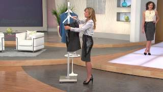 G.I.L.I. Tweed Pencil Skirt with Lace Insets with Jennifer Coffey