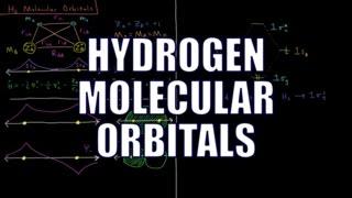 quantum chemistry hydrogen molecular orbital diagram