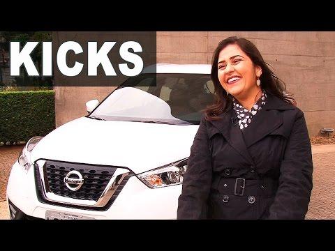 Novo Nissan Kicks 2017 SL CVT em Detalhes
