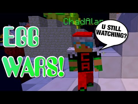 MINECRAFT | EGG WARS | GAMER CHAD & RADIOJH AUDREY | YOU STILL WATCHING?