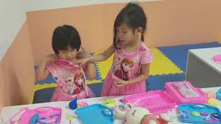 AnLam  baby go to Funny land ở Discovery shopping mall  in Hanoi Vietnam