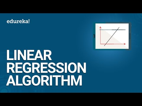 Linear Regression Algorithm | Linear Regression in R | Data Science Training | Edureka