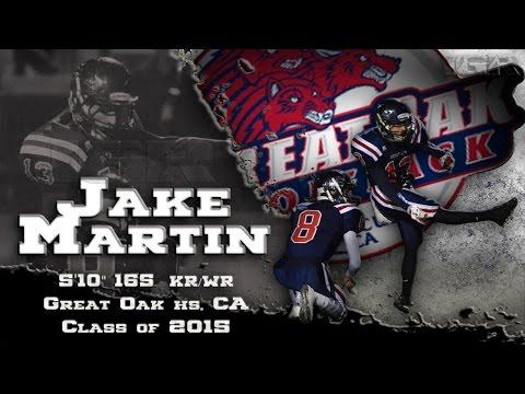Jake Matin Senior Season highlights - Great Oak HS, CA  - IGR Sports