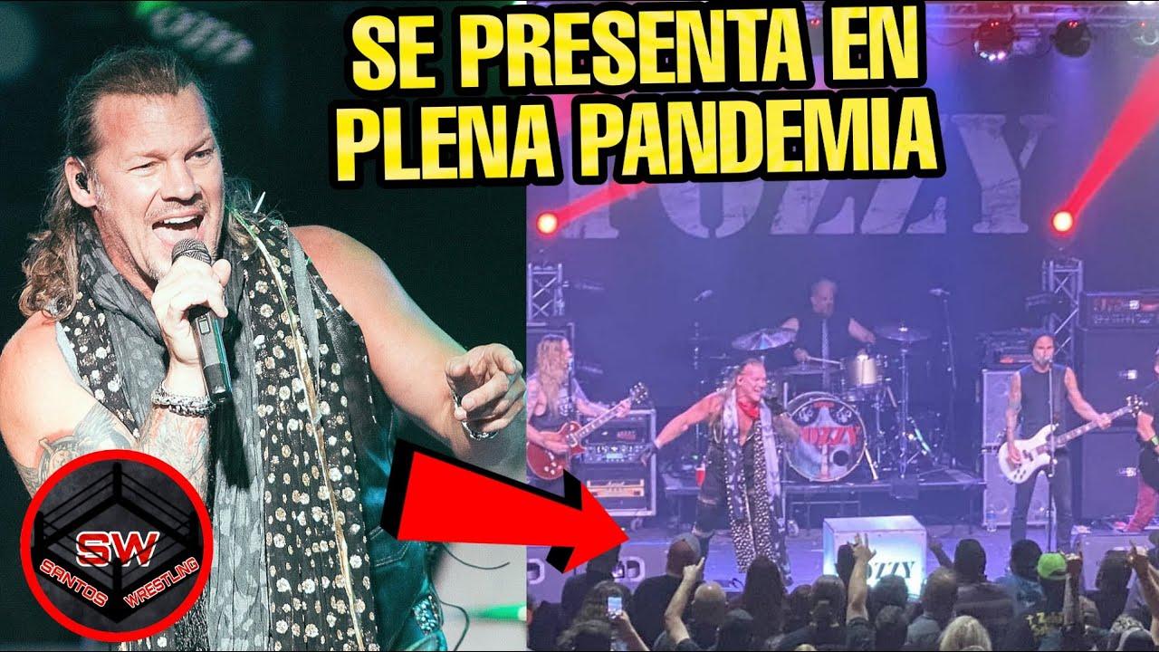 CHRIS JERICHO Y FOZZY DAN CONCIERTO DURANTE  LA PANDEMIA!