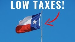 NO INCOME TAX! | Texas Tax Laws and Information