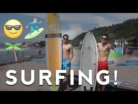 SURFING IN LA UNION!