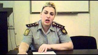 Azərbaycan polis kapitanının ictimaiyyətə və İlham Əliyevə müraciəti